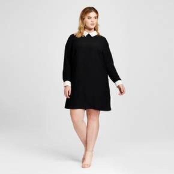 Dresses Womens Plus Size Black Collared Dress 1x 2x Poshmark