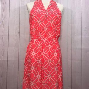 Alice & Trixie Dresses & Skirts - Alice & Trixie Geometric Coral Dress