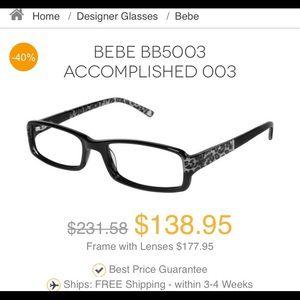 BeBe Accomplished Eyeglasses/Frames