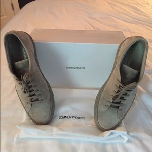 Common Projects Other - Common Projects Suede Sneakers-Tan