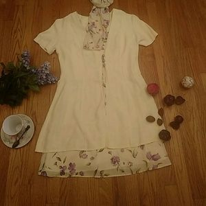 DJI sweet and comfortable two piece dress