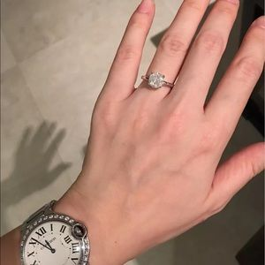 Jewelry - 2.10 CARAT DIAMOND ENGAGEMENT RING 14K GOLD $4900