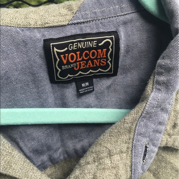 50 off volcom other mens volcom button down 100 cotton for Mens 100 cotton button down shirts