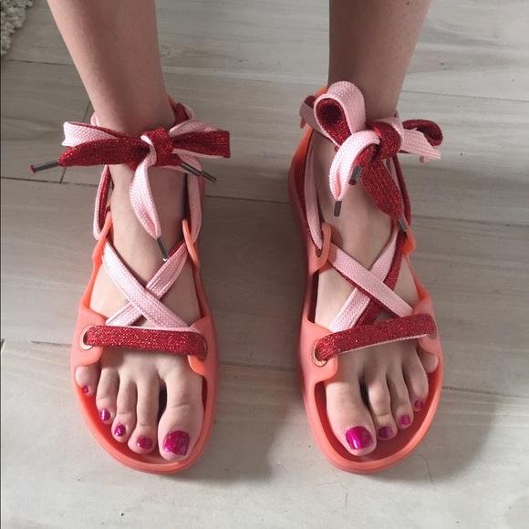 996954766c8 Acne Shoes - ACNE red milo lace up sandal