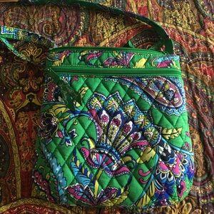 NWOT Vera Bradley petite double zip hipster