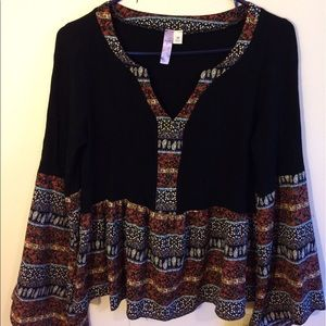 Alya Tops - Alya brand women's multicolored blouse size M