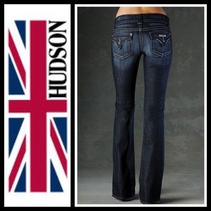 Hudson Jeans Denim - Hudson slim 5 pocket Boot Cut jeans