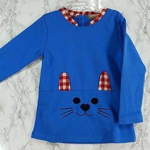 Other - Blue Kitten Dress. Kids