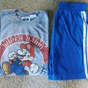 Nintendo Other - Shorts & Tee