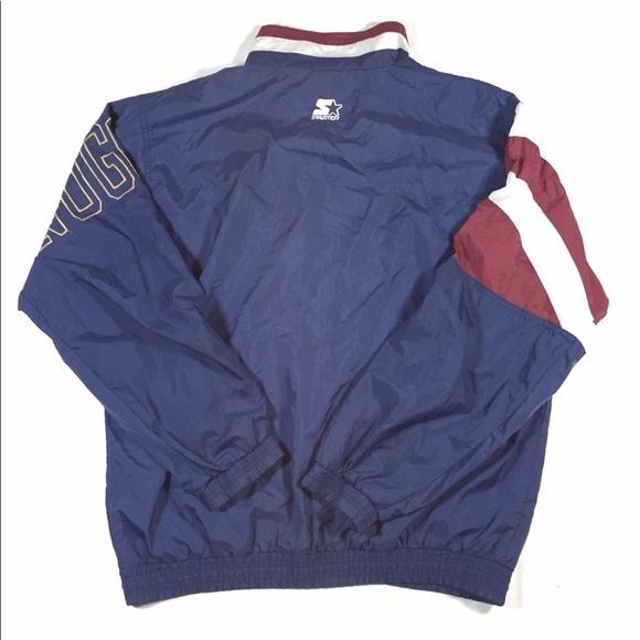 VTG Starter NBA Denver Nuggets Jacket Size XL
