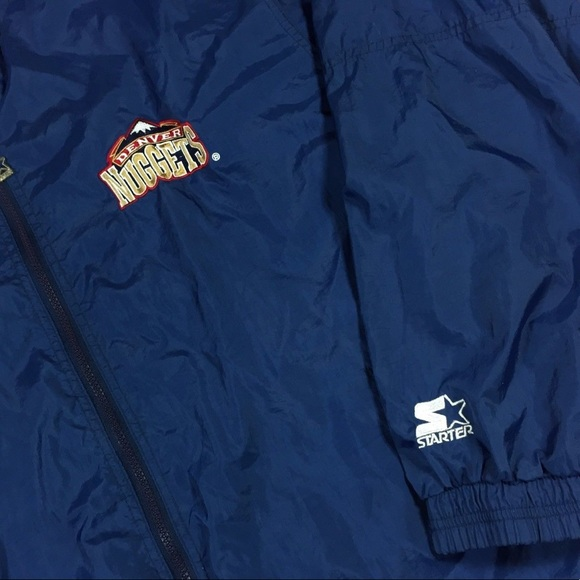 Denver Nuggets Jacket: VTG Starter NBA Denver Nuggets Jacket Size XL