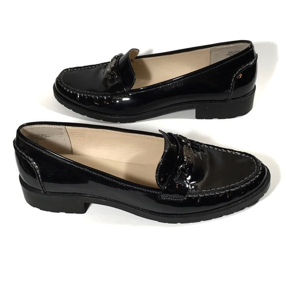 Buy Black Loafer Leather Womens Shoes