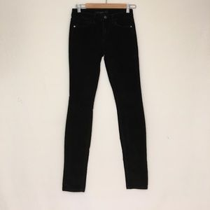 Joe's Jeans Pants - JOES JEANS skinny visionaire corduroy black pants