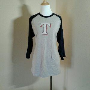 Majestic Tops - Majestic Texas Rangers shirt
