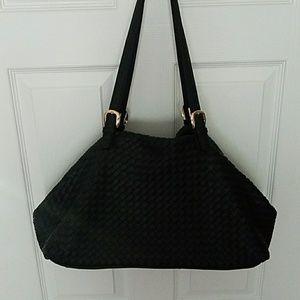 Black Urban Expressions Shoulder Bag