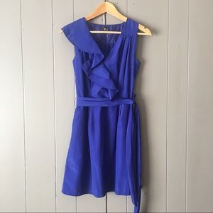 Very J Dresses & Skirts - Gorgeous Royal Blue Ruffle Cocktail Dress✨