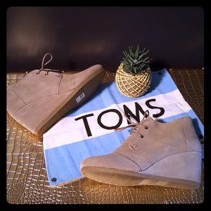 Toms Shoes - Tom's Desert Wedge 💙🏜
