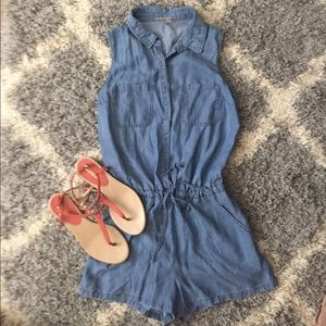 Tencel Chambray Romper