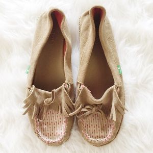 Sanuk Shoes - Sanuk Printed Moccasins