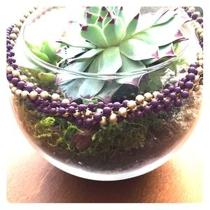 Jewelry - Vintage twist bead necklace