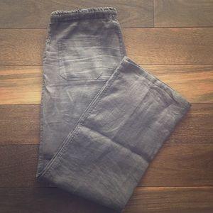 Allen Allen Pants - 100% linen pants by Allen Allen