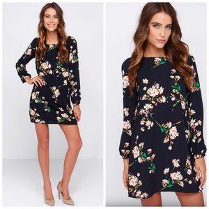 Honey Punch Dresses & Skirts - Lulus Honey Punch Floral Shift