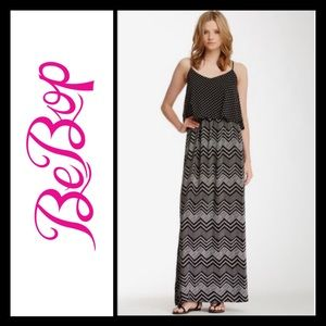 BeBop Dresses & Skirts - BeBop black & white polka dot maxi dress