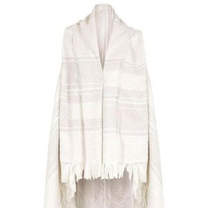 Fringe scarf vest