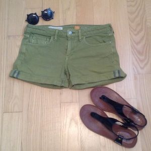 Anthropologie Pants - Pilcro and the letterpress Denim Shorts