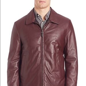 Canali Other - Canali reversible leather jacket