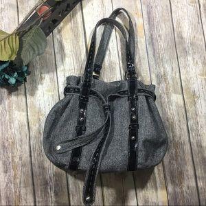 GAP Handbags - Gap Sack Style Large Black And White Purse