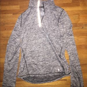 Danskin Now Tops - Gray workout jacket