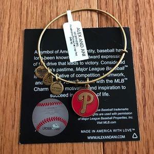Alex And Ani Jewelry - Alex and Ani Phillies Bracelet