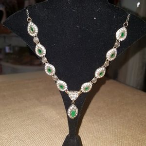 Jewelry - No more mardowns.Genuine Emerald necklace.