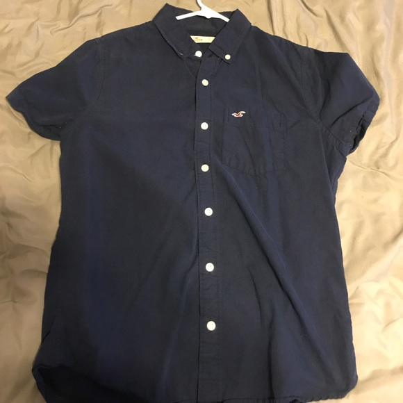 6ea63aed Hollister Shirts   Sale Button Up Shirt Mens Small   Poshmark