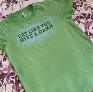 Herbivore Green T Shirt