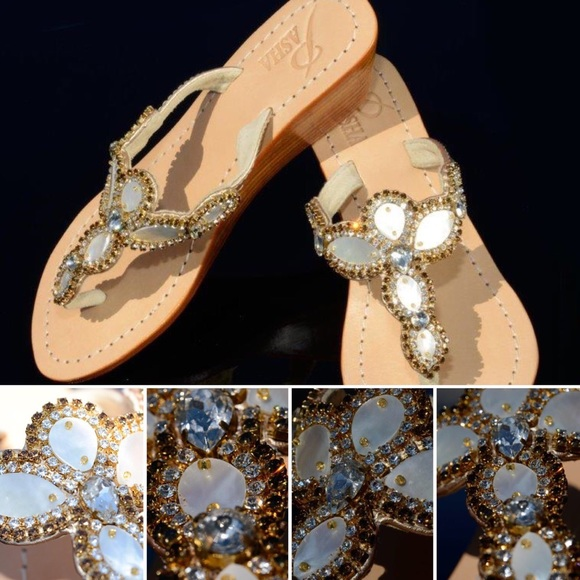 3c9755a2b Gorgeous Jewelry Shoes Wedge Pasha SUMATRA