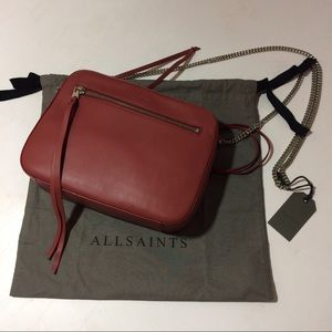 All Saints Handbags - All Saints Fleur de lis crossbody bag new