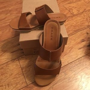 Trask Shoes - Trask Shea in Tan Calf OFFERS WELCOME!