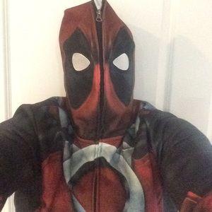 Deadpool full zip hoodie