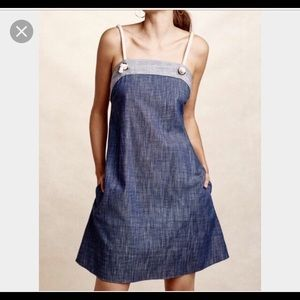 Anthropologie Amadi Chambray dress.
