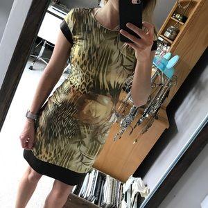 Animal Rose Leopard print dress