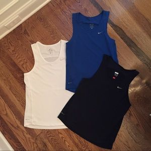 Lot of Mens Nike Dry Fit Tanks