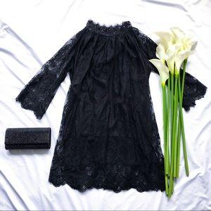 NWOT Nasty Gal black lace dress