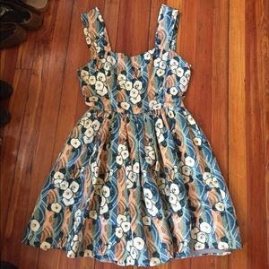 SUNO Dresses & Skirts - SUNO Romantic satin sun dress