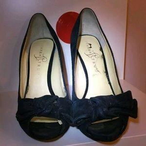 Ivanka Trump Shoes - Ivanka Trumps black sparkling party heels