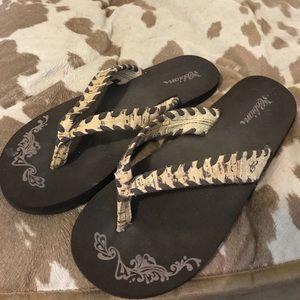 Cobian Shoes - Rustic flip flops