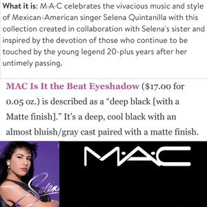 MAC Cosmetics Makeup - NIB Auth MAC Selena LE 'Is it the Beat' Eyeshadow