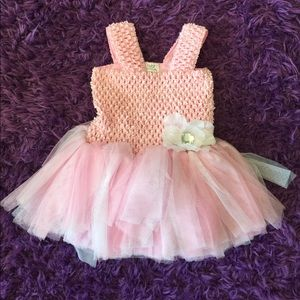 Baby Essentials Other - Pink tulle Baby Girl Dress