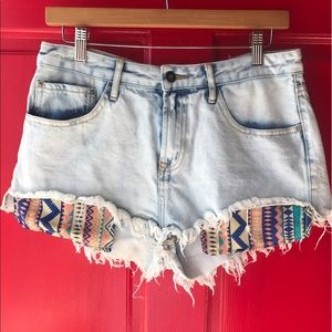 OnTwelfth Pants - On Twelfth- Tribal Pocket Shorts